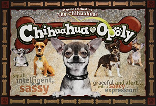 Late for the Sky Chihuahua-opoly (Dog Monopoly Board Game)