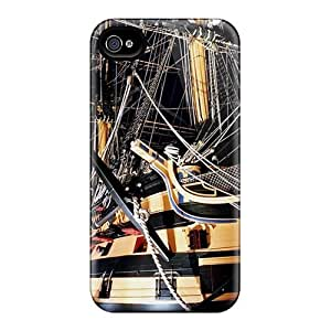 High Quality LGJ1116pSPz Ancient Sailship Tpu Cases For Iphone 4/4s