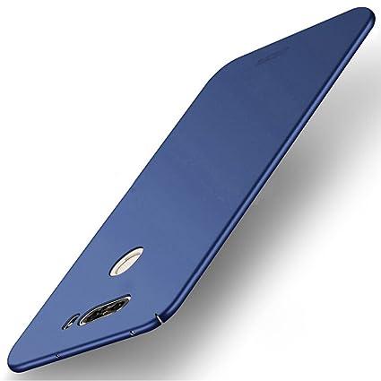 Funda LG V30 - BCIT LG V30 Carcasa [Ultra-Delgado] [Ligera] Anti-rasguños Estuche para LG V30 - Azul