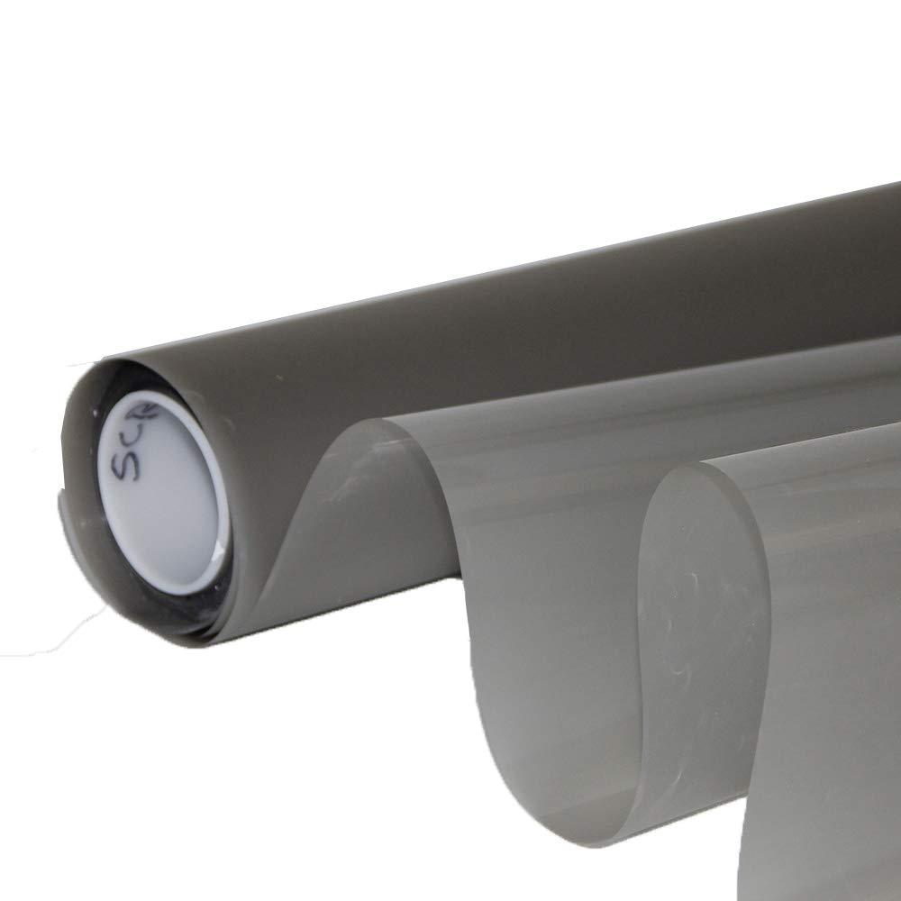 Hoho 152 cmx500 cm Holographic背面投影スクリーンフィルムOfficeプレゼンテーション投影画面 152cmx500cm B07CQJ2F85 ライトグレー