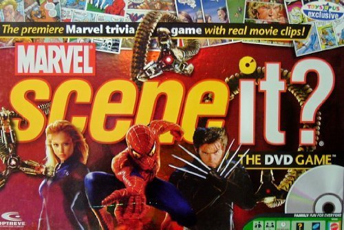 Marvel Scene It? The DVD Game by Mattel