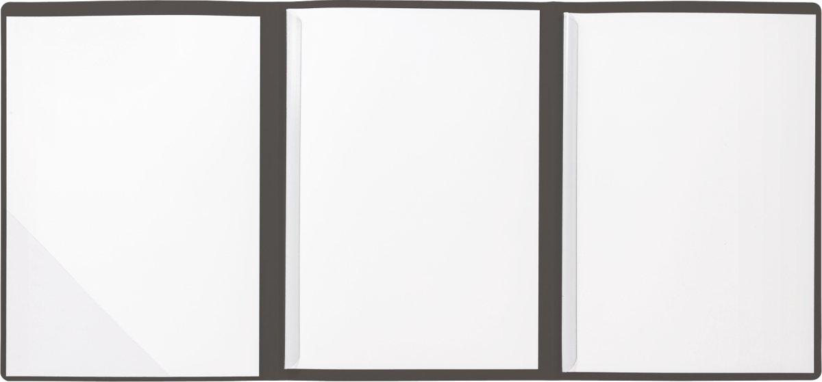 Strukturkarton mit feinen Linien, A4, 10 Blatt BRUNNEN 102012911 Bewerbungsmappe chamois