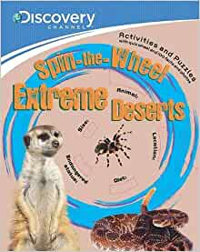 Discovery: Spin-The-Wheel Extreme Deserts: NA: 9781445415451: Amazon