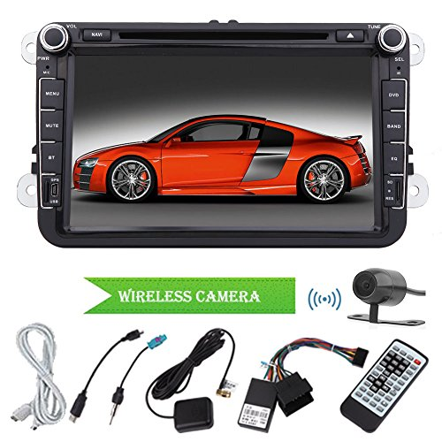 Radio Mp3 Mp4 Car DVD Player Android Mp3 Mp4In Dash 4.2 2Din for Volkswagen 8