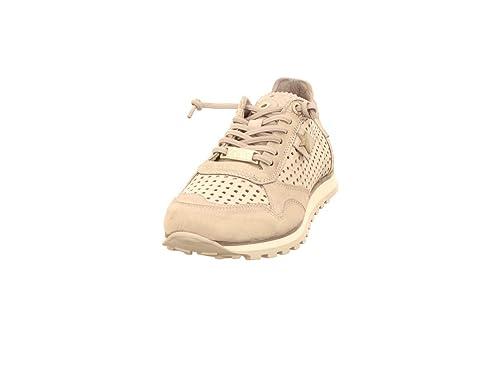 Cetti Sneaker - Zapatillas de Cuero para Mujer Gris Gris, Color Gris, Talla 36 EU: Amazon.es: Zapatos y complementos