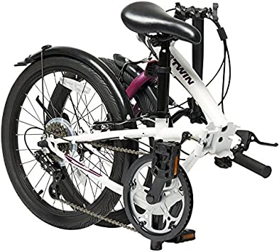 Btwin Bicicleta Plegable Aluminio 2017 4 Colores + Regalo: Amazon ...