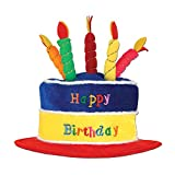 Beistle 60717 Plush Birthday Cake Hat