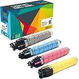 Do it Wiser Compatible Toner Cartridge Replacement for Ricoh Aficio SP C830DN SP C831DN | 821181 821184 821183 821182 (4 Pack)