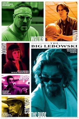 The Big Lebowski Jeff Bridges Coen Brothers Movie Quotes Pos