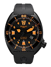 Zodiac Oceanaire Automatic Rubber Divers Mens Watch ZO8016