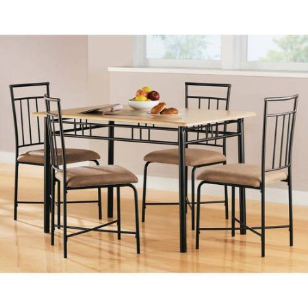 Transitional 5 Piece Dining Set by MS furniture