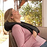 Shiatsu Back Neck and Shoulder Massager with Heat - Gift for Men Women
