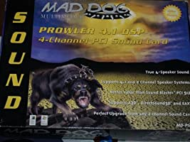 Mad Dog PROWLER 4.1 DSP - Sound card - PCI