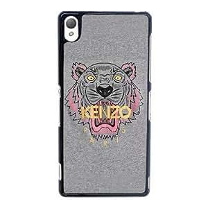Kenzo B0N1Cd Funda Sony Xperia Z3 funda caja del teléfono celular Negro F3O1RN Protective Case funda personalizada