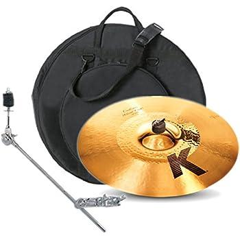 zildjian k1217 17 inch k custom hybrid crash with gig bag and boom arm musical. Black Bedroom Furniture Sets. Home Design Ideas