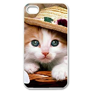 Hard Shell Case Of Cute Cat Customized Bumper Plastic case For Iphone 4/4s