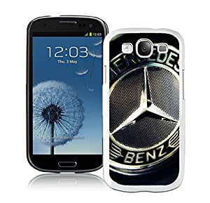 Nice and Grace Case mercedes-benz 7 Samsung Galaxy S3 I9300 Phone Case in White