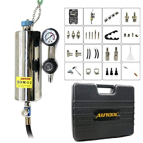 Autool C-100 Automotive Fuel Cleaning Tools CFS Series Fuel System On-vehicle Cleaning Assistant Fuel Injector Cleaner 600ML 140PSI (Cleaner Kit Fuel Injection)