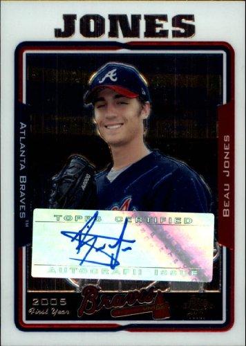 2005 Topps Chrome Update Baseball Rookie Card #232 Beau Jones Near Mint/Mint