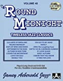 Jamey Play A Long Vol 40 Round Midnight (Book and CD)