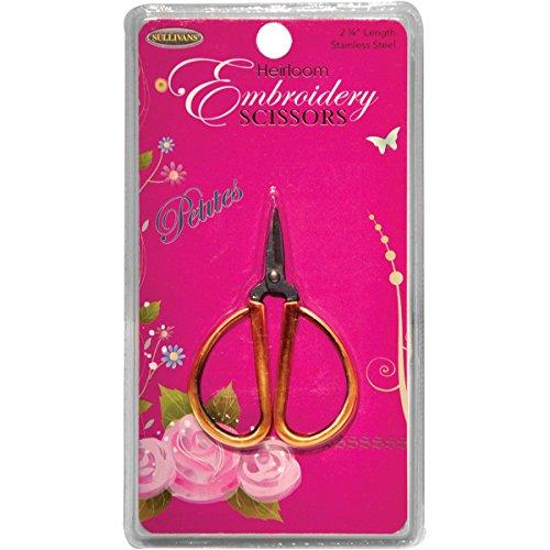 Sullivans Petites Embroidery Scissors, 2.25