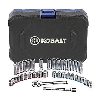 Kobalt 40-Piece Standard/Metric Mechanics Tool Set with Case