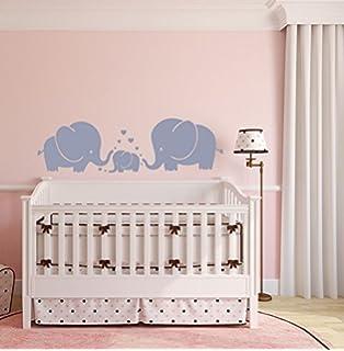 Bdecoll Wandsticker Elefant Fur Kinderzimmer Babyzimmer Mit