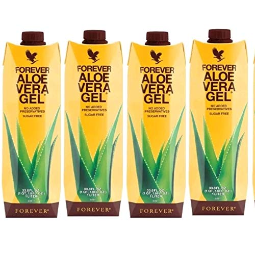 4 pack Aloe Vera Gel Drink immune system and Supports healthy digestion New