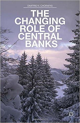 Download elektroniske bøger pdf The Changing Role of Central Banks ePub 1349463426