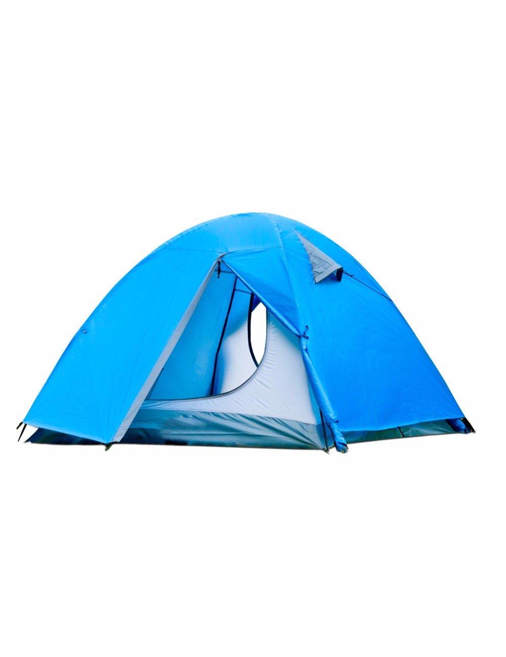 SJQKA-Zelt Double Double winddicht und wasserdicht Campingplatz Camping Outdoor Equipment