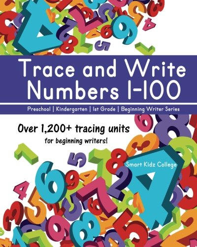 Trace and Write Numbers 1-100