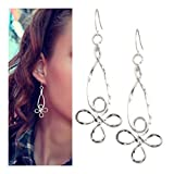 Flower Silver Earrings for Women   SPUNKYsoul Collection