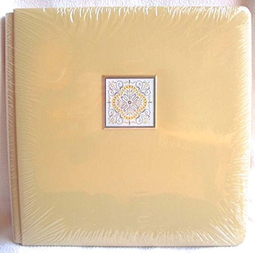 Creative Memories 12 X 12 Mustard Buttercream Yellow Kaleidoscope Album with 15 ()