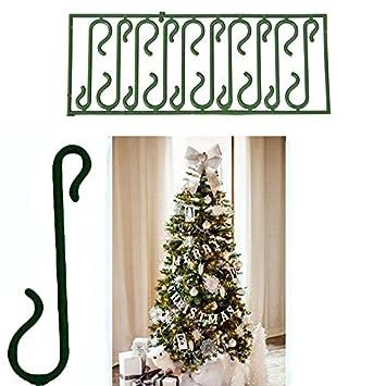 c108d810bcf Takestop® 400 Ganchos verdes para colgar bolas y decoración navideña Árbol  de Navidad ganchos  Amazon.es  Electrónica