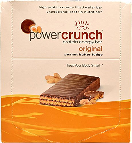 Power Crunch Protein Energy, Peanut Butter Fudge Butter Fudge, 1.4-Ounce Bar (2 set of 12 Pack)