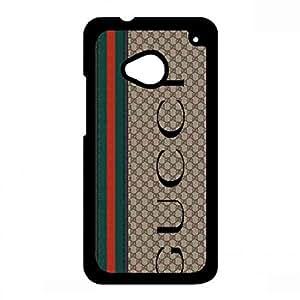 Funda Htc one m7 Customized Cover,Htc one m7 Protective Funda,Gucci Brand Logo Funda
