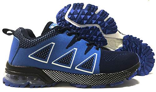 Correr Deportes de Asfalto para Montaña Exterior Zapatillas Azul de Zapatillas tqgold Interior Zapatos Running T7EnBW5Aq