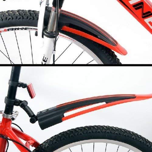 Gearmax® Bicicleta camino de la montaña Frente guardabarros ...