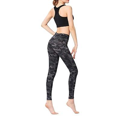 Kanggest.Mujer Pantalones para Yoga Pilates Baile con ...