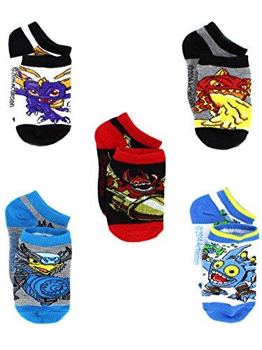(Skylanders Boys 5 pack Socks (4-6 Toddler (Shoe: 7-10), Skylanders)