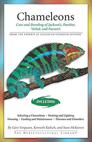 Chameleons: Care and Breeding of Jackson's, Panther, Veiled, and Parson's (Advanced Vivarium Systems) by Gary Ferguson (2007-03-15)
