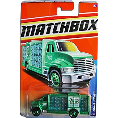 2011 Matchbox City Action 12 of 14 AQUA KING #71 GREEN (Emerald Waters): Toys & Games