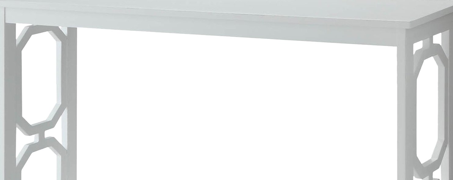 Convenience Concepts Omega Console Table, White by Convenience Concepts (Image #5)