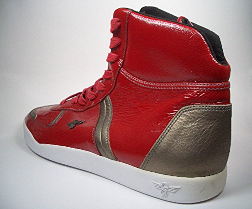 Creative Recreation Milano Hi Choice Rojo de oro cr92hi10 tamaño 42/Us 9/UK 8/27 cm