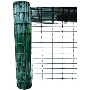 Green Blade BB-CW131 10 x 0.9m PVC Coated Garden Fence – Green