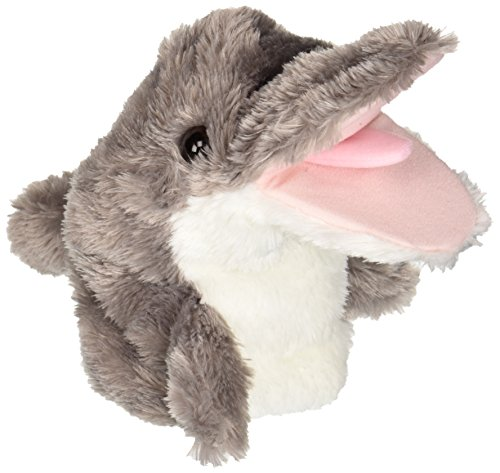 Dolphin Puppet<br>Aurora World<br>Approx 10 Inches