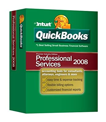 QuickBooks Premier Professional Services Edition 2008 [OLD VERSION]