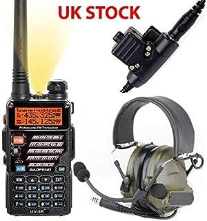 35147022aba AIRSOFT GIFT SET KIT 2 WAY RADIO BAOFENG UV-5R HEADSET PELTOR SORDIN COMTAC  GREEN
