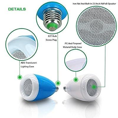 MT-LA01-Bulb speaker