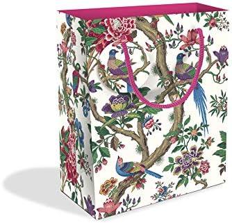 Bolsa de regalo mediana con diseño de árbol chino: Amazon.es: Oficina y papelería